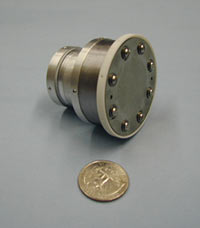 Miniature Xenon Ion Thruster